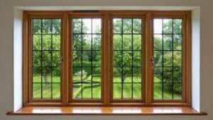 Medžio langai